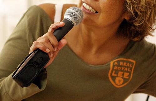MCArrieta on microphone