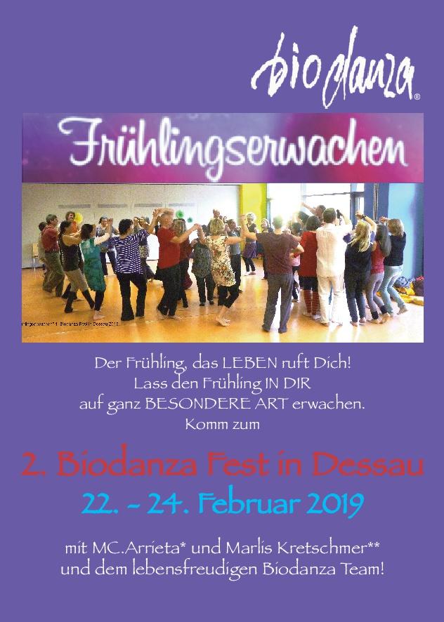 Frühlingserwachen in Dessau 2019