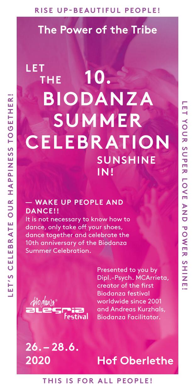 Biodanza Summer Celebration 2020