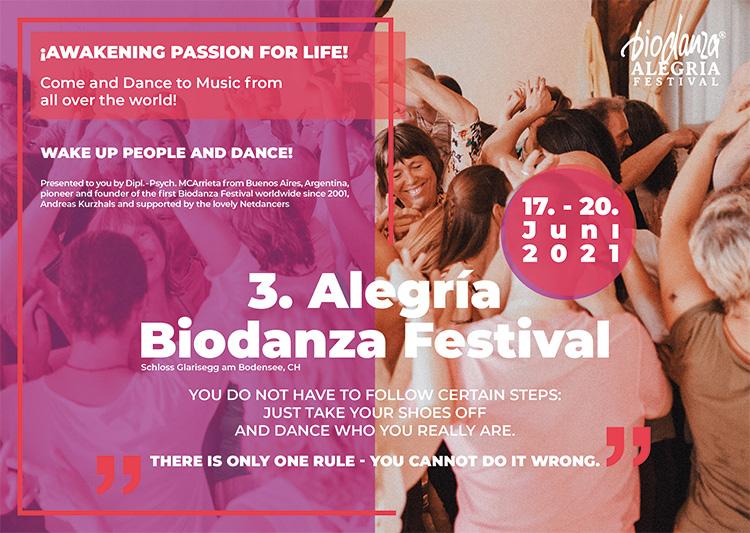 Biodanza Festival Glarisegg 2021