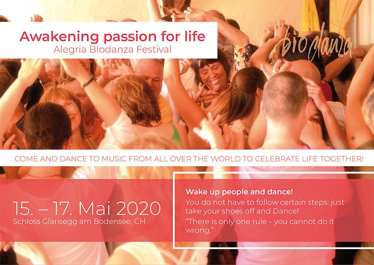 Biodanza Festival Glarisegg 2020